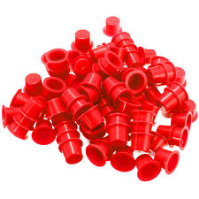 100pcs 3 Sizes Disposable Professional Plastic Tattoo Ink Cups Supplies