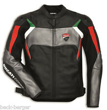 DUCATI Dainese CORSE C3 Leather Jacket Leather Jacket perf. black new 2017