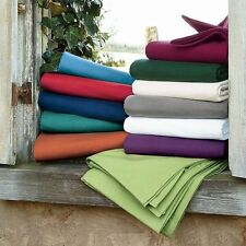 Full Size Bedding Collection 1000 TC 100%Egyptian-Cotton All Solid Color !Get It