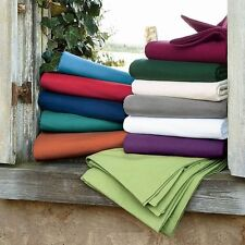 All Solid Colors 4 pc Bedding Sheet Set 1000 TC 100%Egyptian Cotton Queen Size
