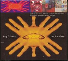 KING CRIMSON - The First Three: In the Court of the Crimson King / In the Wake o