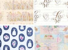 Wedding Anniversary Bachlorette Gift Wrap Paper 1ct Party Decoration Supplies