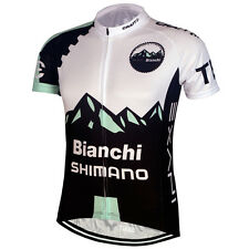 Hot Sale Mens Cycling Jersey Bicycle Clothing Short Sleeves Shirts Size S-3XL