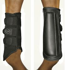 Mark Todd EXERCISE BOOTS Light Brushing Competition Splint Black/White M/L/XL