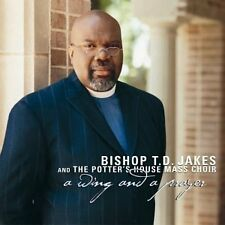 T.D. JAKES - A Wing & A Prayer - CD ** Very Good condition **