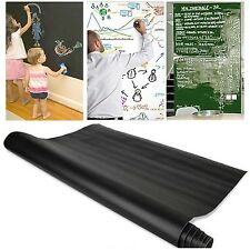 Chalk Board Blackboard Wall Sticker Decal Removable Chalkboard Wallpaper