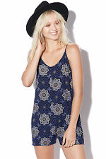 New ALL ABOUT EVE Womens Switch Playsuit Blue