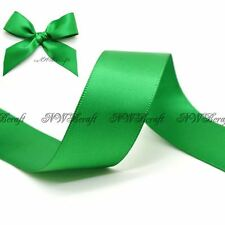 Emerald Double Sided Satin Ribbon 3mm 6mm 10mm 16mm 22mm 28mm 50mm