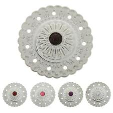 NO-SEW Metal Flower Tack Snap Studs Buttons Fasteners Leathercraft Jeans Buttons