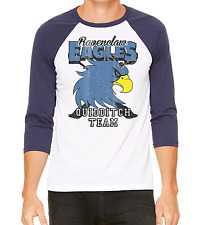 Ravenclaw Eagles Quidditch Team 3/4 Sleeve Unisex Baseball Shirt Harry Potter