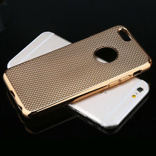 Luxury Stylish Electroplated Dotted Case Cover Gold For iPhone 5 5s {[md289