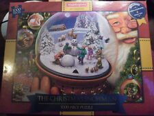 WADDINGTONS CHRISTMAS JIGSAW 2015 -1000 PIECES -CHRISTMAS SNOWMAN -NEW & SEALED