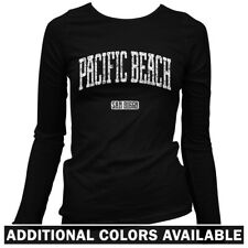Pacific Beach San Diego Women's Long Sleeve T-shirt - LS S-2X - Gift California