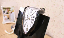 New Art Novelty Melting Distorted Wall Hanging Shelf Clock Home Decor 1Pc