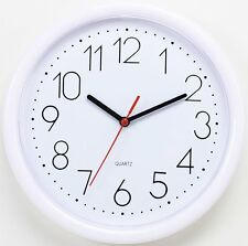 NEW Modern 10-inch Simple Home Decor Round Non-Ticking Silent Wall Clock