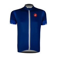 New Mens Bike Cycling Short Sleeve Jersey Shirt Riding Tops Outfit Maillots Blue