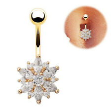 Cubic Navel Body Jewelry Belly Button Rings Body Piercing Ring Navel Ring