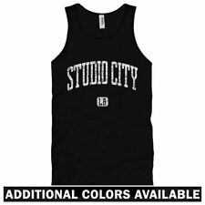 Studio City Los Angeles Unisex Tank Top - Men Women XS-2X - Gift LA TV Film CBS