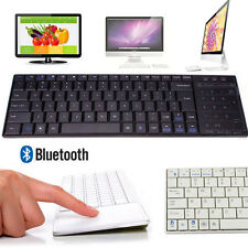 Mini Ultra Slim Wireless Bluetooth Keyboard Touch Pad Mouse For Tablet PC Phone