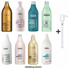 Loreal Series Expert Shampoo 1500ml + Pump - All Series: Keratin, Color, Volume