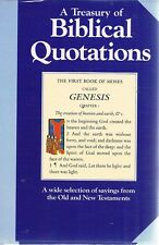 A Treasury Of Biblical Quotations by  - Book - Hard Cover