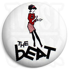 The Beat - Dancing Girl Logo - 25mm Ska Button Badge with Fridge Magnet Option