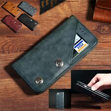 New Genuine Magnetic Flip Wallet PU Leather Stand Case Cover For Apple iPhone 7