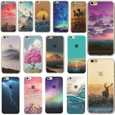 Silicone Ultra Slim Rubber TPU Back Case Cover For Apple iPhone /5s/6s/7/7Plus