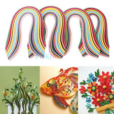 720 Strips Paper Quilling 36 Mixed Colors 540mm Papercraft DIY Craft 3/5/7/10mm