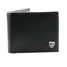 Mens Leather Credit Card Holder Wallet  ID Cash Coin Purse card Holder