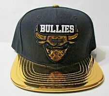 NEW RETRO SNABACK CAPS  GOLD FOIL STREET BULLIES MATCH AIR JORDAN 5's