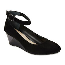 NEW SANDLER INDIA BLACK SUEDE LEATHER HEELS WOMEN'S SHOES