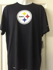 Nike Dri-Fit Pittsburgh Steelers Logo T-Shirt
