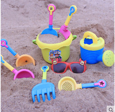 Beach toy Plastic sand bucket beach sand playing tool shovel dredging outdoor