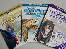 AUSTRALIAN MENAGERIE ADD ONS FOR WILDLIFE HABITAT STRATEGY BOARD GAME