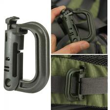 Shackle Snap Locking KeyRing D-Ring Clip Carabiner