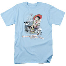 Betty Boop SO MANY SHOES, SO LITTLE TIME Licensed Adult T-Shirt All Sizes