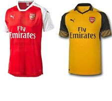 Puma Arsenal Home and Away kit 16/17,8-9Y,10-11Y.UK SELLER.BNWT