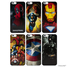"""Case/Cover Marvel Comics Apple iPhone 6 6s (4.7"""") + Screen Protector / Hard Back"""