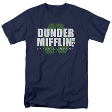 The Office TV Show DUNDER MIFFLIN Recycle Logo Licensed T-Shirt All Sizes