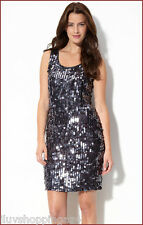 Pisarro Nights Sequin Tank Dress