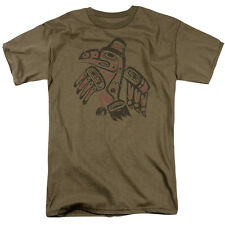 TRIBAL EAGLE Native American Adult T-Shirt All Sizes