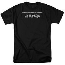 GETTING OLD: MORE FOOD THAN BEER IN THE FRIDGE Humorous T-Shirt All Sizes