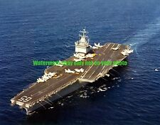 USN USS Enterprise CVN-65 Color Photo Military Navy Carrier 1978 CVN 65
