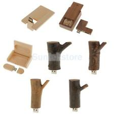 8/16/32GB Wood USB 2.0 Memory Stick Flash Thumb Drive U Disk Data Storage Gift