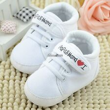 Fashion Infant Toddler Baby Soft Sole Antiskip Canvas Sneaker Crib Shoes BF901
