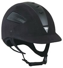 NEW IRH Elite EQ Helmet - Black/Black - 6 5/8, 6 3/4, 7 1/4, 7 3/8