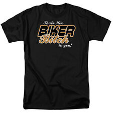 THAT'S MISS BIKER BITCH TO YOU Humorous Adult T-Shirt All Sizes