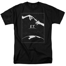 E.T. ET Extra-Terrestrial Movie Fingers Touch MOVIE POSTER T-Shirt All Sizes