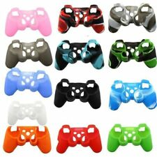 Silicone Rubber Skin Grip Protective Case Cover for Playstation 3 PS3 Controller
